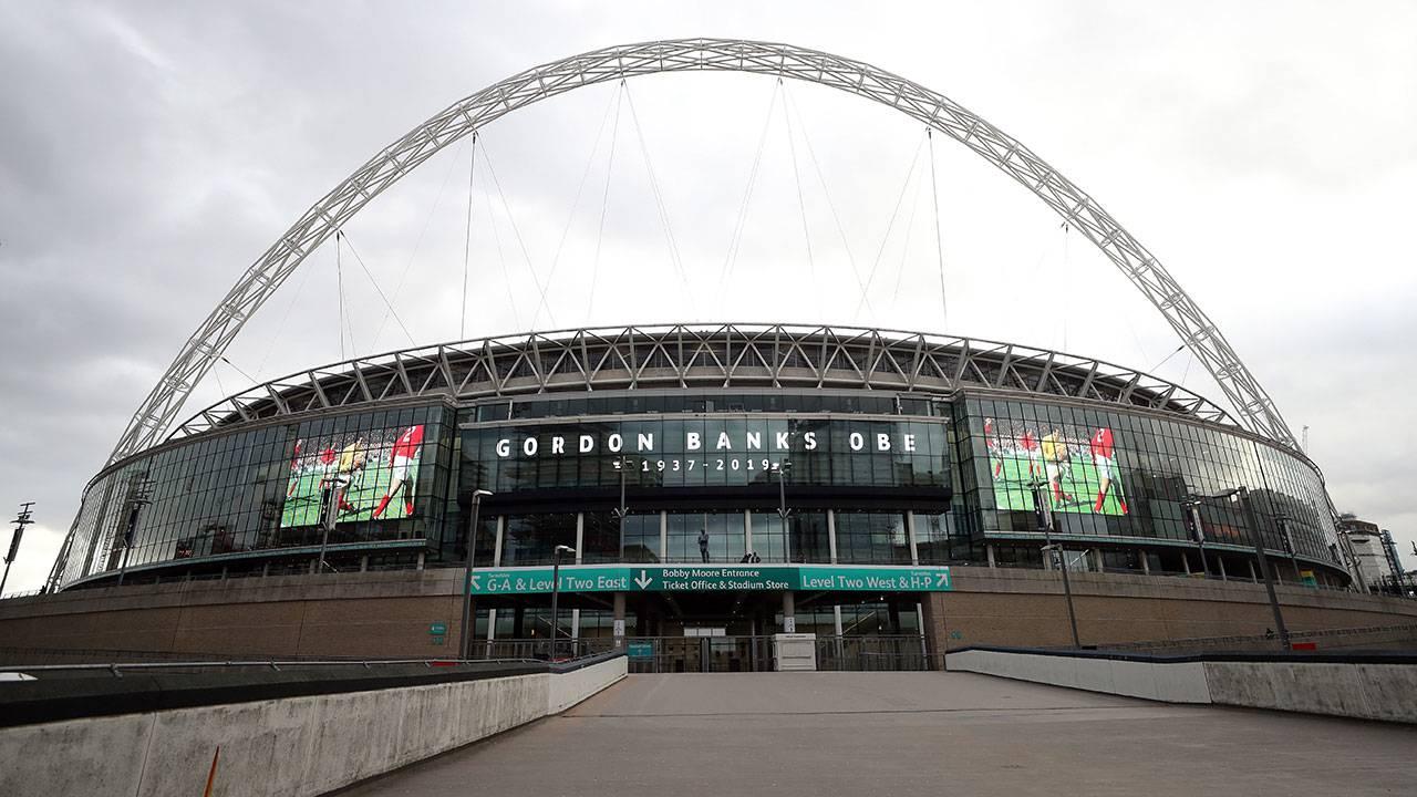 Wembley Stadium exterior - Getty Images