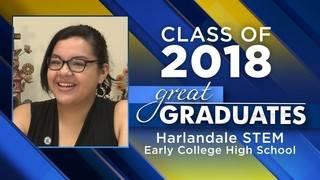 Great Graduates: Esmeralda Castillo, Harlandale STEM Early College High School