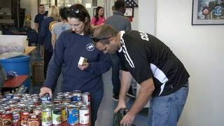 Coast Guard families turn to food pantry as shutdown drags on