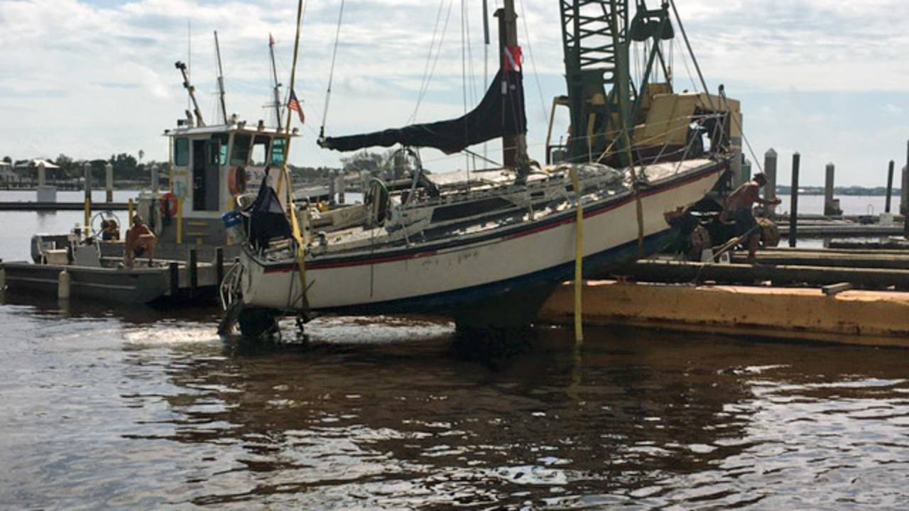 Boat-on-dock-St.-Augustine