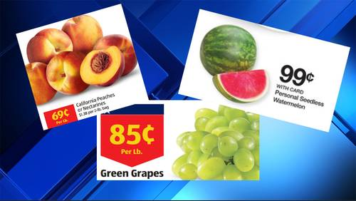 Grocery Deals: Stock up on refreshing summer snacks