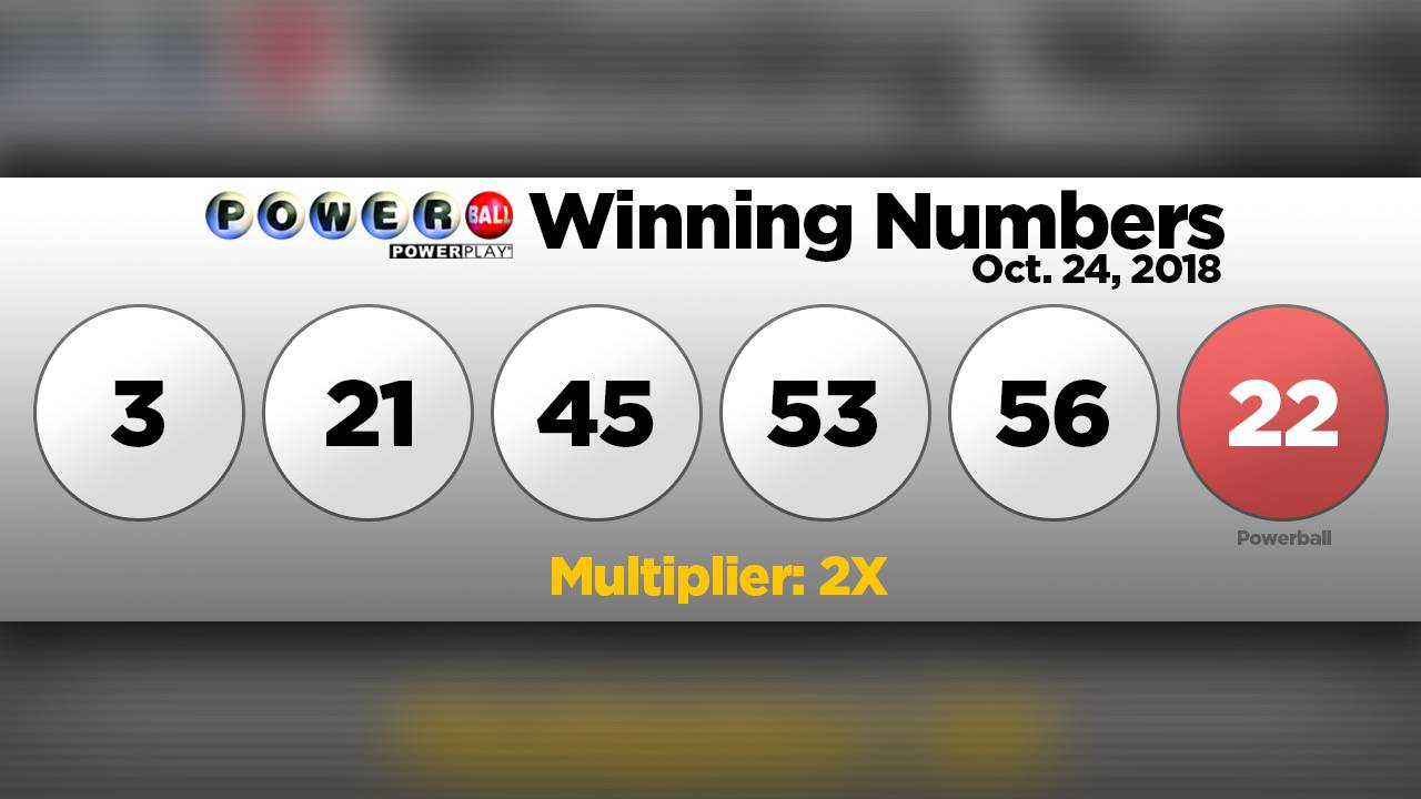 CHECK YOUR TICKETS! Winning numbers drawn for $620 million