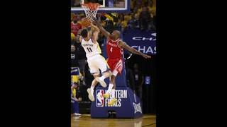 PHOTOS: Rockets take on Warriors in Game 3 of conference finals