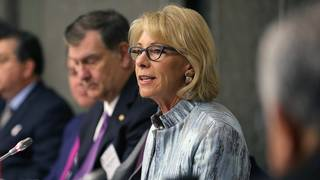 Congress blocks DeVos agenda in spending bill