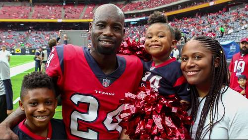 Q&A: Texans CB Jonathan Joseph opens up about Father's Day