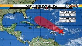 Hurricane season isn't over yet as storm brews in tropics