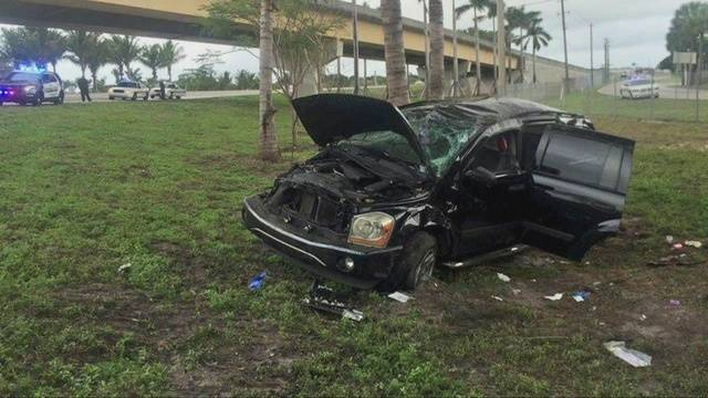 Woman killed in crash on I-95 ramp to I-595