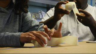 Hope for Walk hosts training on how to create wooden prosthetics