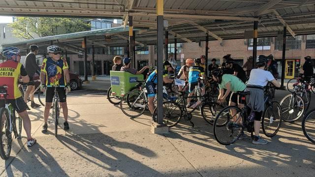 Ride of Silence Ann Arbor 1