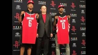 Rockets' draft picks Melton, Edwards ready to get started