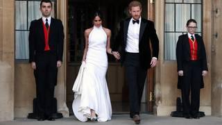 Meghan wears Stella McCartney dress to evening reception