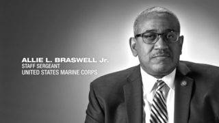 U.S. Marine Corps Staff Sgt. Allie L. Braswell
