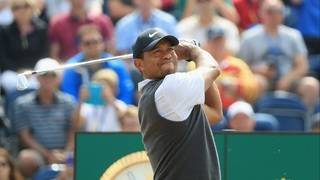 For 38 minutes, Tiger Woods comeback looked complete