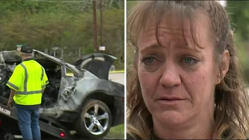 'It's hard to sit and watch somebody burn': 2 die in Montgomery County crash