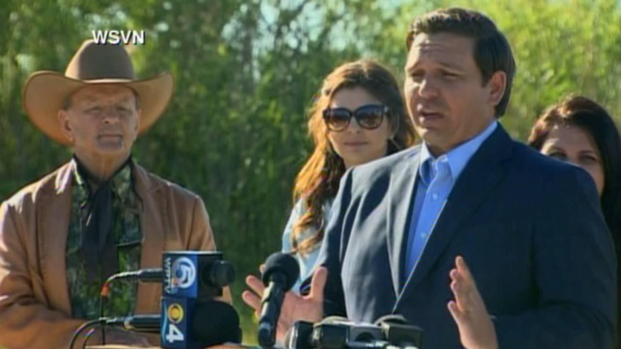 537aeb31e8 Gov. DeSantis to budget  625 million for Everglades