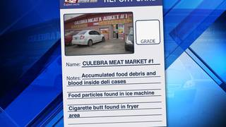 Accumulated blood in deli area leads to failed inspection for West Side&hellip&#x3b;