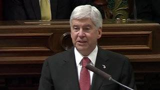 Michigan governor to give his final state of state speech