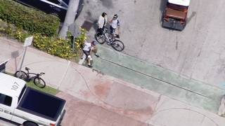 2 bicyclists struck by vehicle in Key Biscayne, authorities say