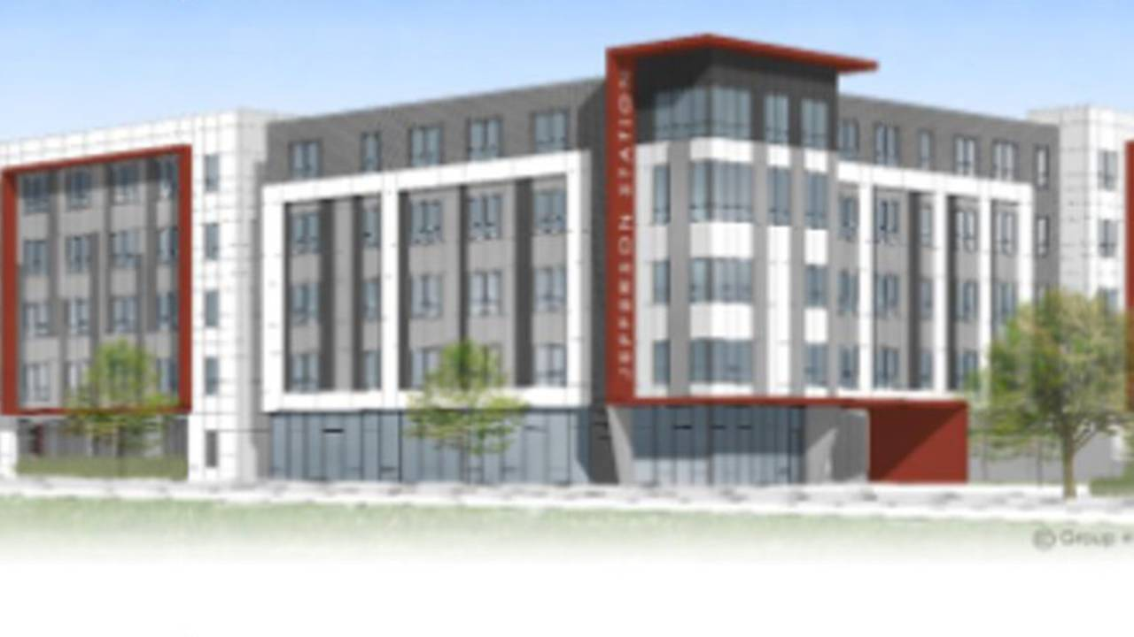 Rendering of Lofts at Jefferson Station