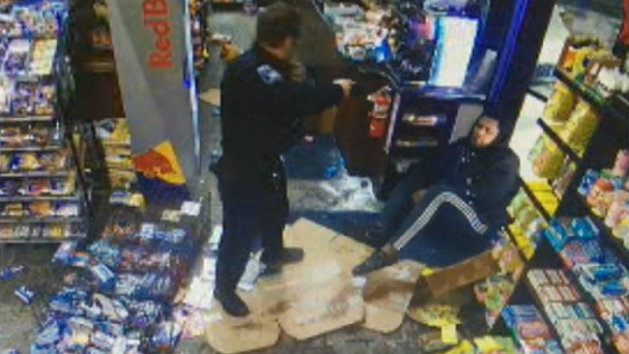 Malik McDowell Lathrup Village gas station Taser standoff