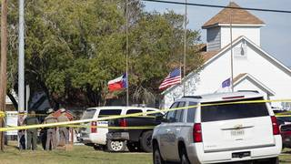DOJ wants lawsuits from Sutherland Springs church shooting consolidated