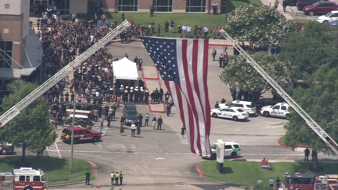Kemah Police Chief Chris Reed funeral 6-14-19  (3)