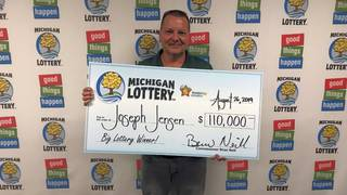 Michigan Lottery: Eighth time the charm for South Lyon man