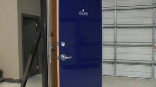 Group customizes bullet-resistant doors for classrooms