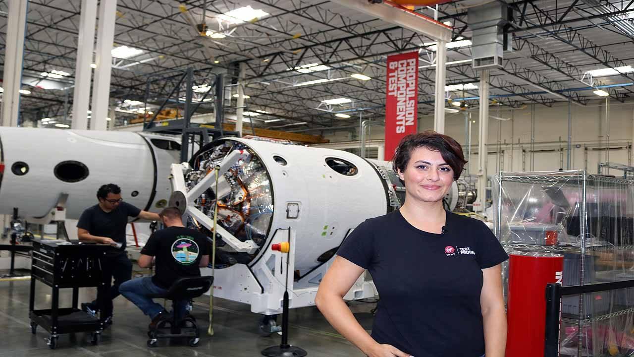 Diana Alsindy Virgin Orbit engineer