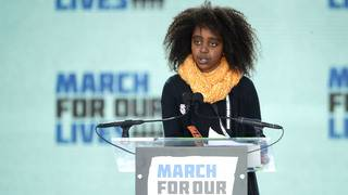 11-year-old speaks up for black girls