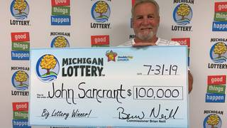 Michigan Lottery: Man wins second Fantasy 5 jackpot this year