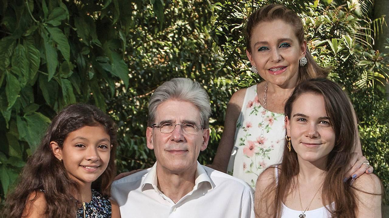 Frenk Knaul family