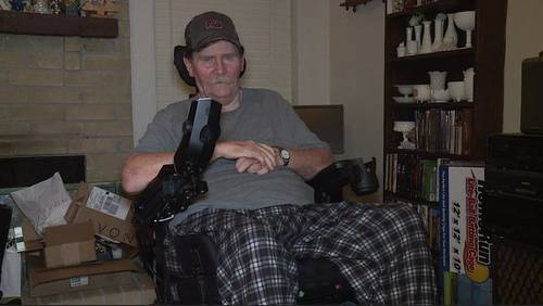 Spencer Solves It: Paralyzed man gets new, working equipment thanks to Bill's Brigade
