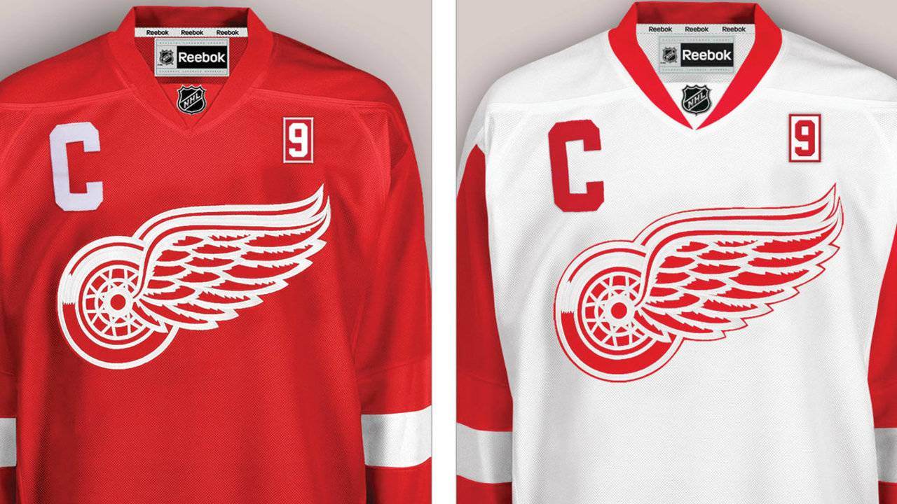 """DETROIT - The Detroit Red Wings will wear a commemorative patch on their  jerseys during the 2016-17 regular season in honor of """"Mr. Hockey"""" Gordie  Howe 765c8e00f44"""