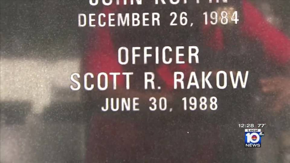 Officer Scott Rakow memorial