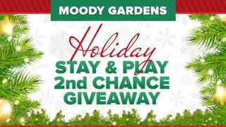 Moody Gardens Holiday Stay and Play 2nd Chance Giveaway