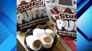 Up your s'mores game with chocolate-stuffed marshmallows