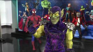 Marvel Universe Live: Spider-man and Green Goblin face-off!