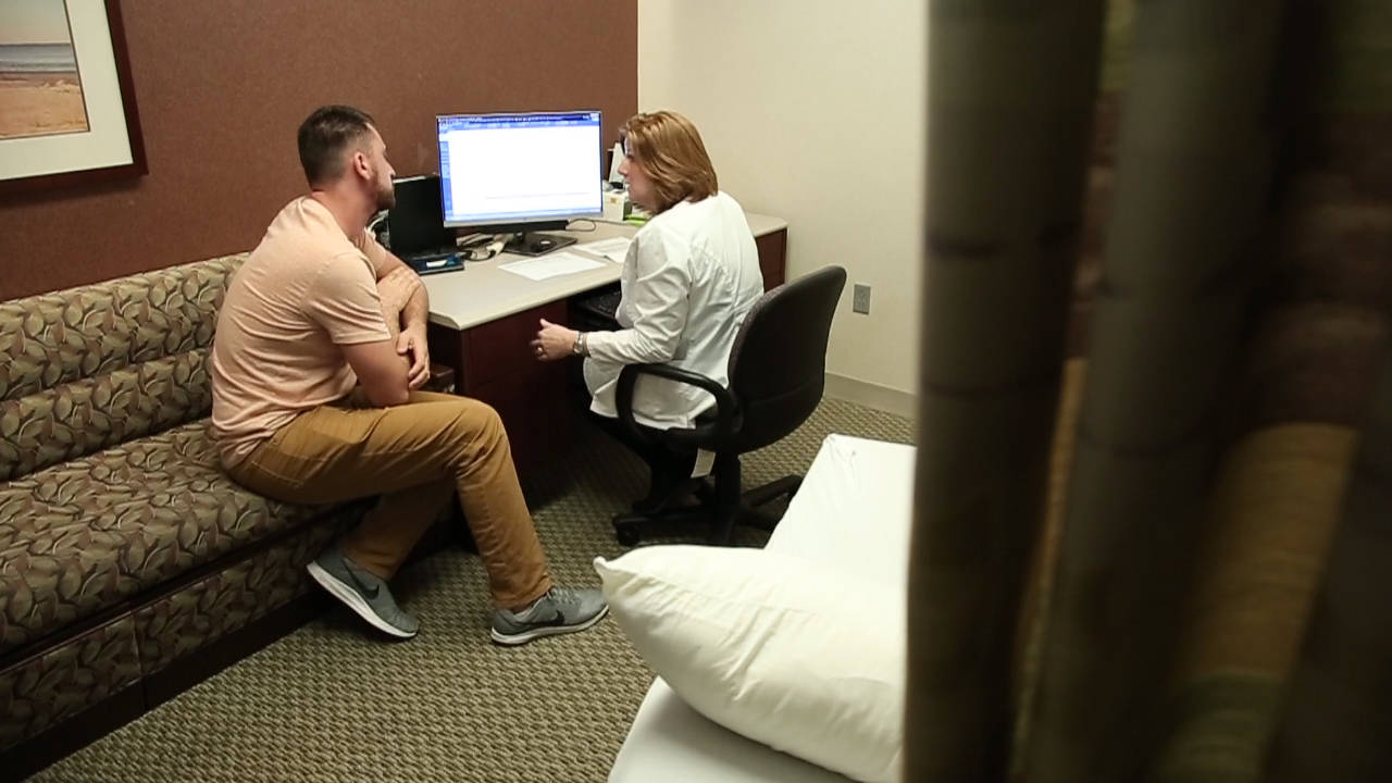 Nicholas Flores at Mayo Clinic