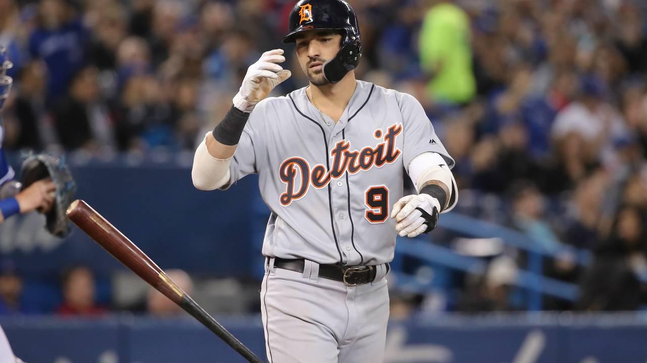 Nicholas Castellanos Detroit Tigers vs Blue Jays 2019