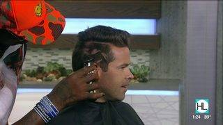 Dennis Rodman cuts host's hair on live TV | HOUSTON LIFE | KPRC 2