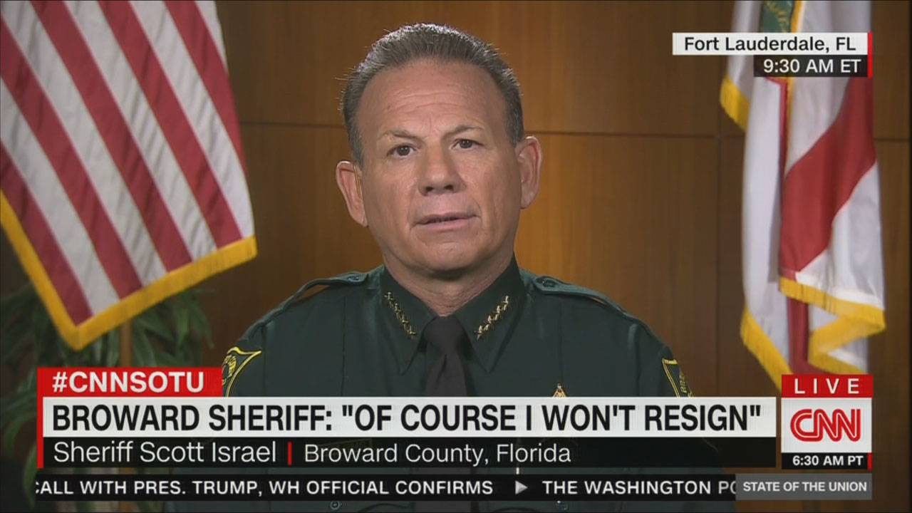 Scott Israel on CNN
