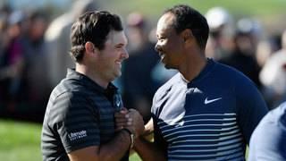 Masters champion Patrick Reed gets kudos from idol Tiger