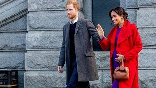 What title will Harry and Meghan's baby hold?