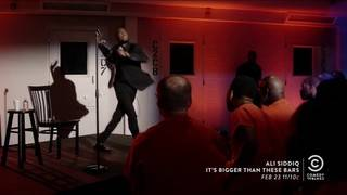 Comedian Ali Siddiq on performing stand-up comedy in prisons