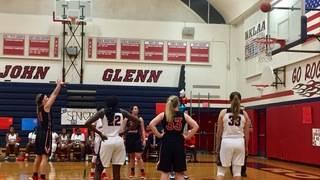 Truly tough competition: John Glenn v. Livonia Churchill girls basketball