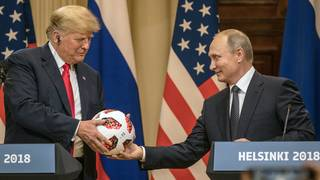 Trump ignores GOP criticism, says Putin meeting was great