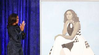 Smithsonian moves Michelle Obama portrait due to 'high volume of visitors'