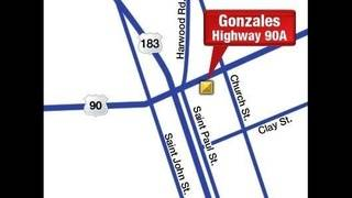 Gonzales Football Stadium Map
