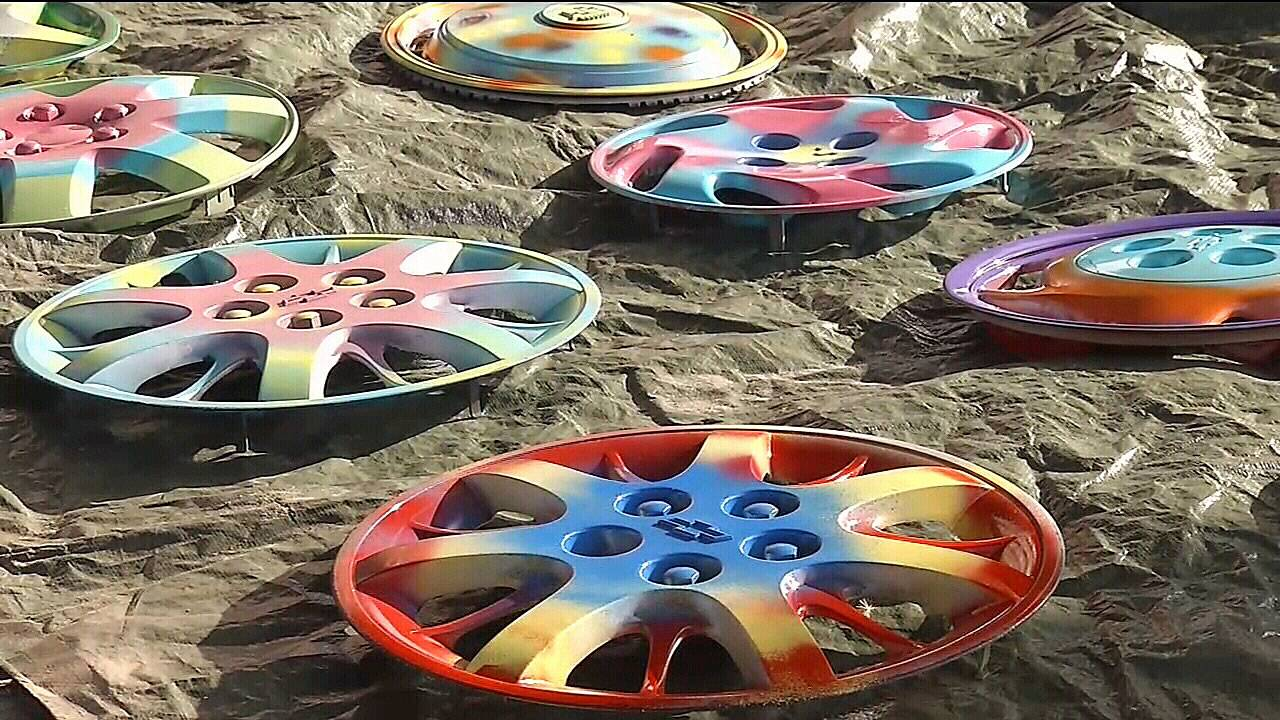Day of Service hubcaps